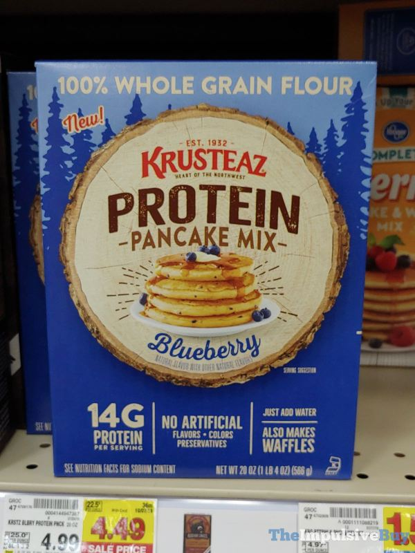 Krusteaz Blueberry Protein Pancake Mix