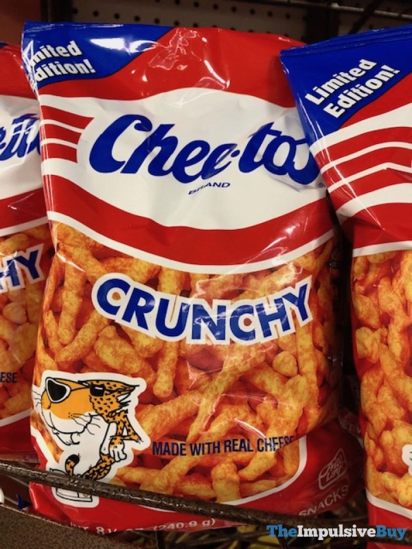 Limited Edition Retro Bag Cheetos Crunchy