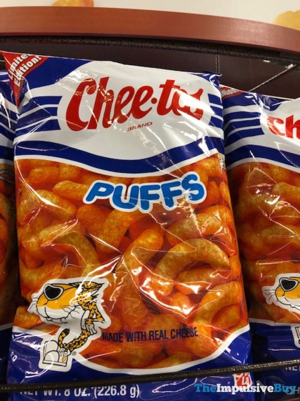 Limited Edition Retro Bag Cheetos Puffs