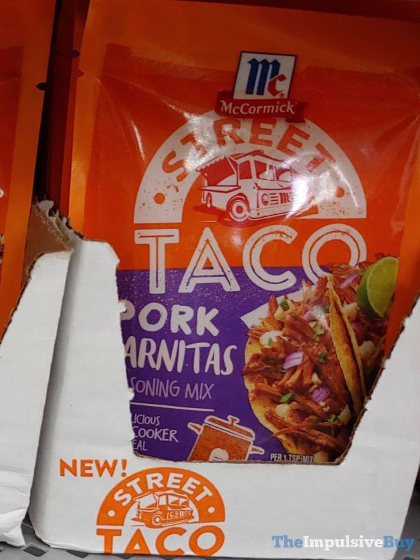 McCormick Pork Carnitas Street Taco Seasoning Mix