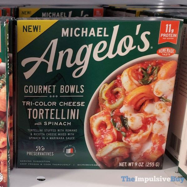 Michael Angelo s Gourmet Bowls Tri Color Cheese Tortellini