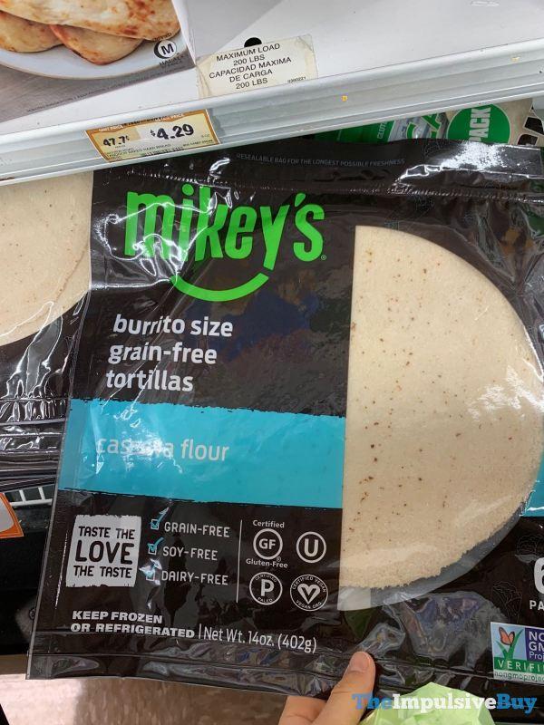 Mikey s Cassava Flour Burrito Size Grain Free Tortilla