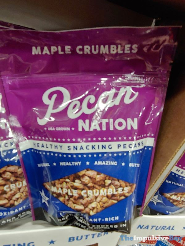 Pecan Nation Maple Crumbles