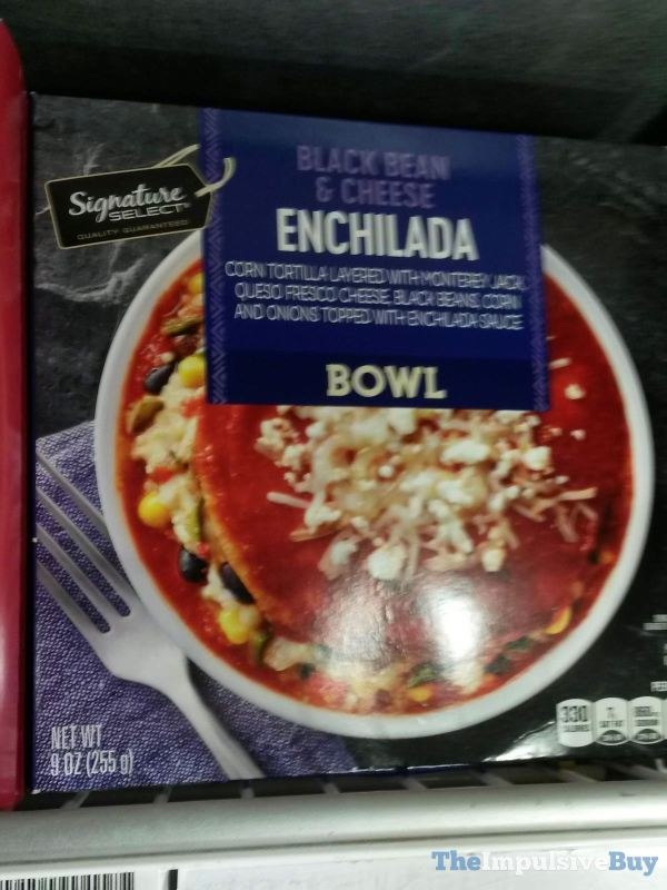 Signature Select Black Bean  Cheese Enchilada Bowl