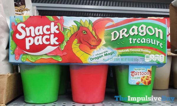 Snack Pack Dragon Treasure Pudding
