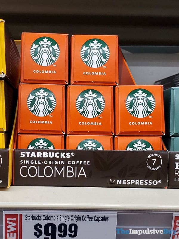 Starbucks Single Origin Colombia Coffee Nespresso Capsules