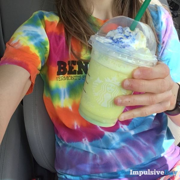 Starbucks Tie Dye Frappuccino Shirt