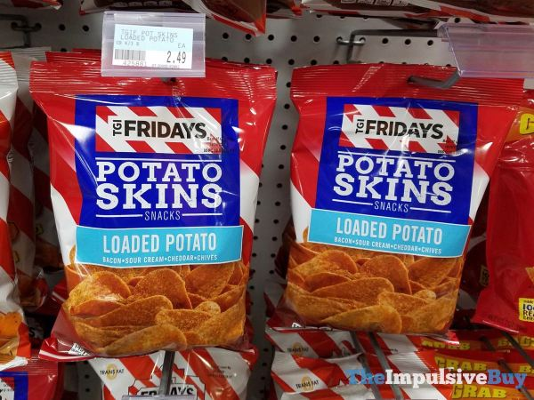TGI Fridays Loaded Potato Potato Skins Snacks