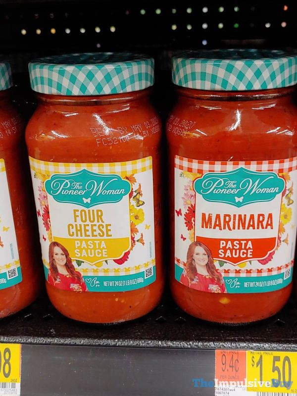 The Pioneer Woman Pasta Sauces  Four Cheese and Marinara