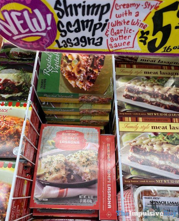 Trader Joe s Shrimp Scampi Lasagna