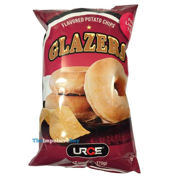 Urge Glazers Donut Flavored Potato Chips