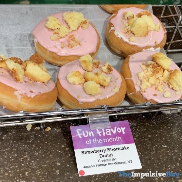 Wegmans Fun Flavor of the Month Strawberry Shortcake Donut