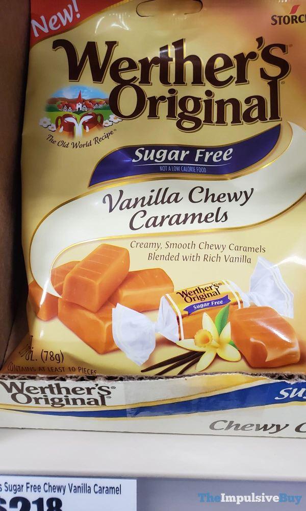 Werther s Original Sugar Free Vanilla Chewy Caramels