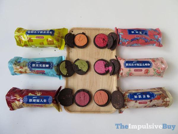 8 Oreo Six Flavors Cookies