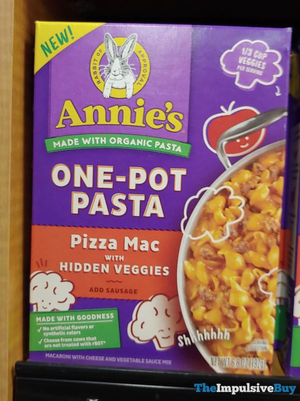 Annie s One Pot Pasta Pizza Mac with Hidden Veggies