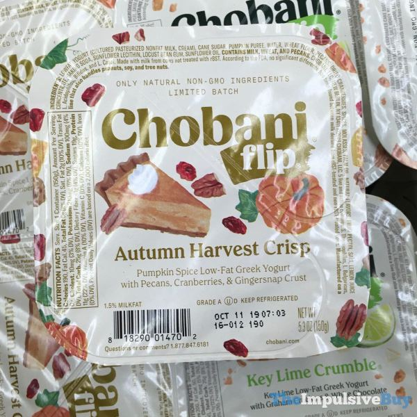 Chobani Flip Autumn Harvest Crisp