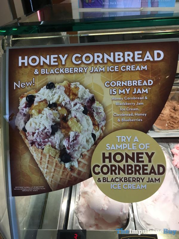 Cold Stone Creamery Cornbread is My Jam