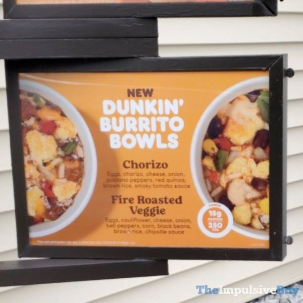 Dunkin Burrito Bowls
