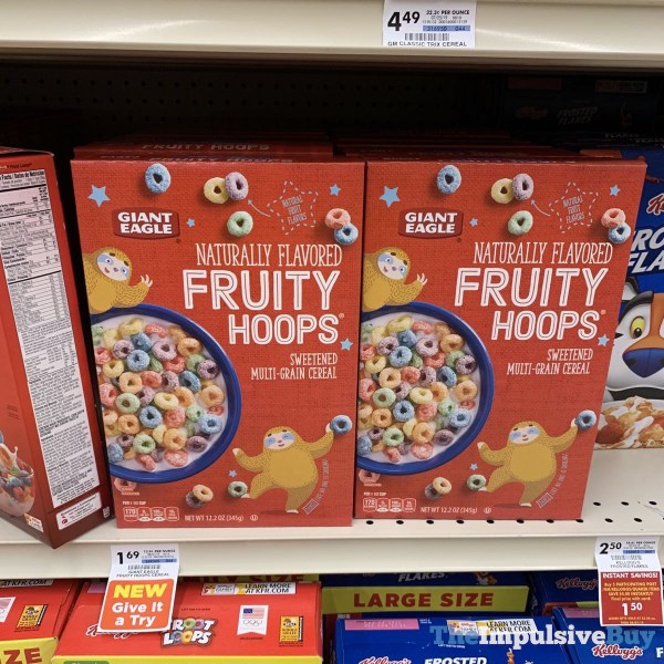 Giant Eagle Fruity Hoops Cereal