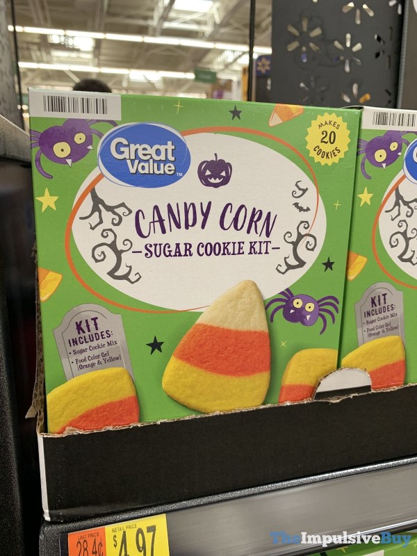 Great Value Candy Corn Sugar Cookie Kit