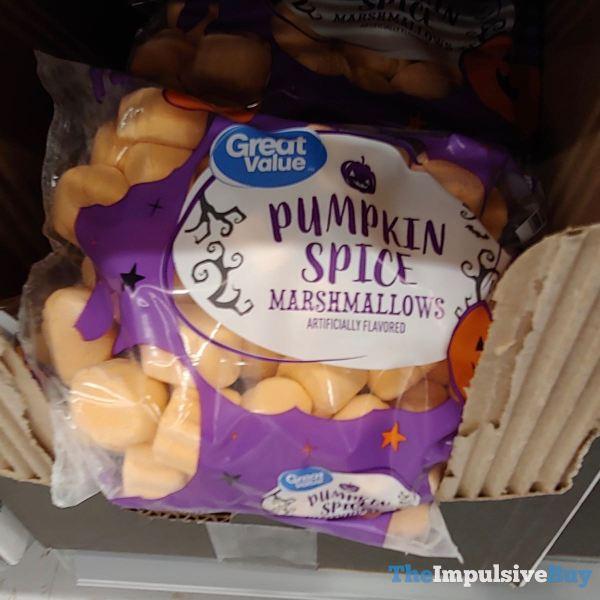 Great Value Pumpkin Spice Marshmallows