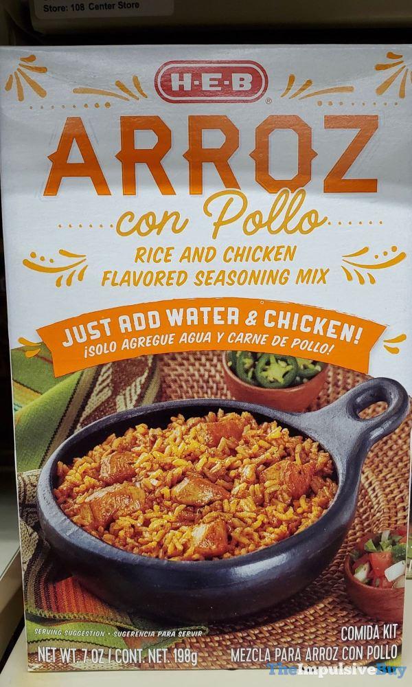 H E B Arroz con Pollo Comida Kit
