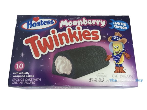 Hostess Limited Edition Moonberry Twinkies