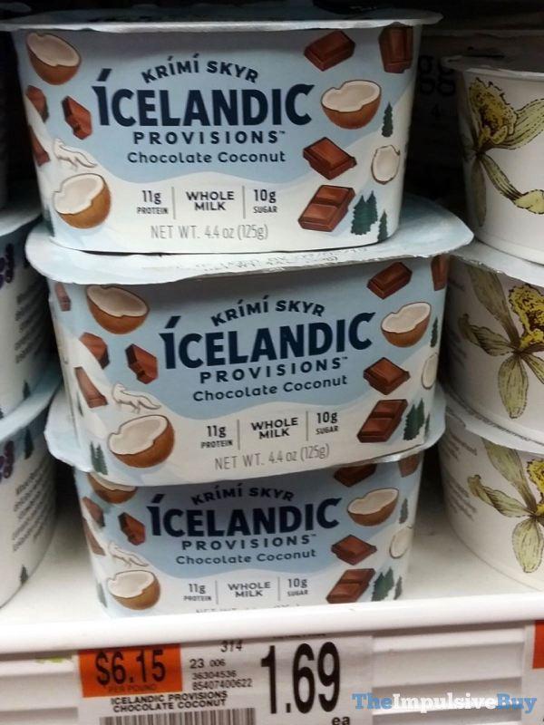 Icelandic Provisions Chocolate Coconut Krimi Skyr Yogurt