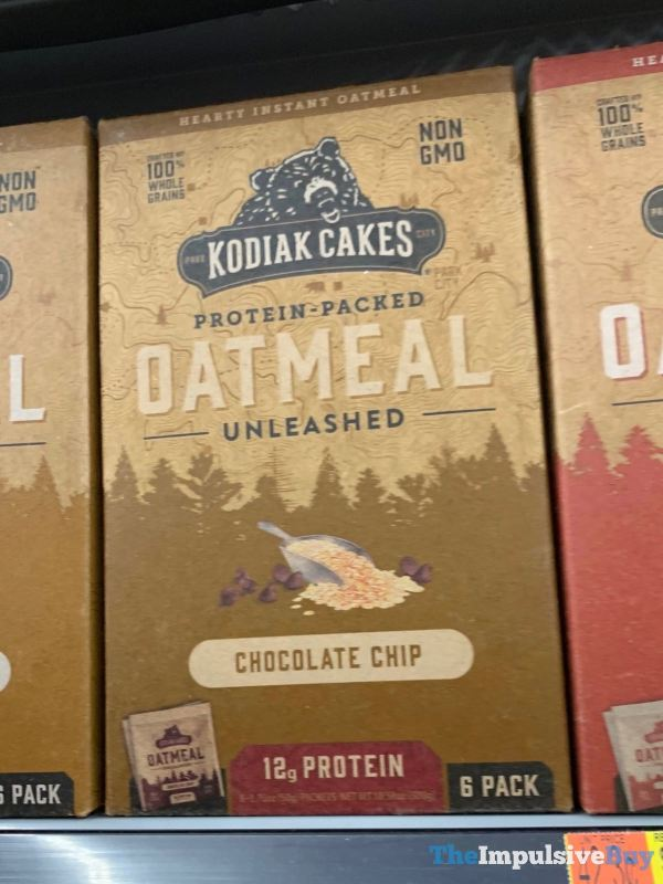 Kodiak Cakes Chocolate Chip Oatmeal Unleashed Packets
