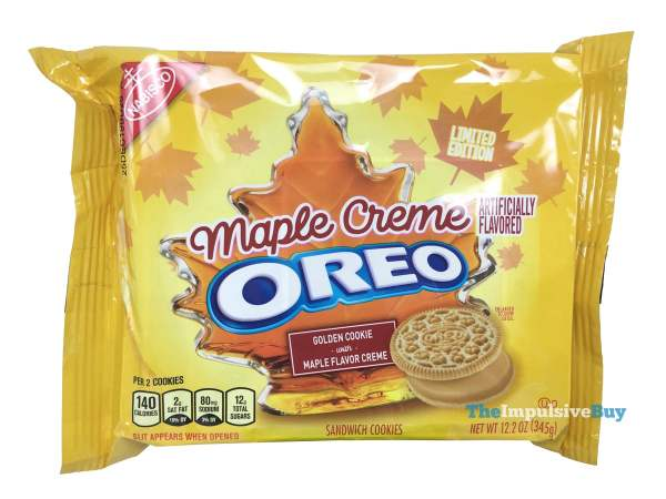 Limited Edition Maple Creme Oreo Cookies