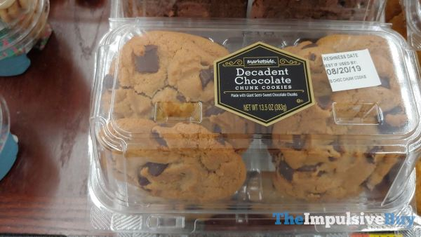 Marketside Decadent Chocolate Chunk Cookies
