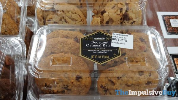 Marketside Decadent Oatmeal Raisin Cookies
