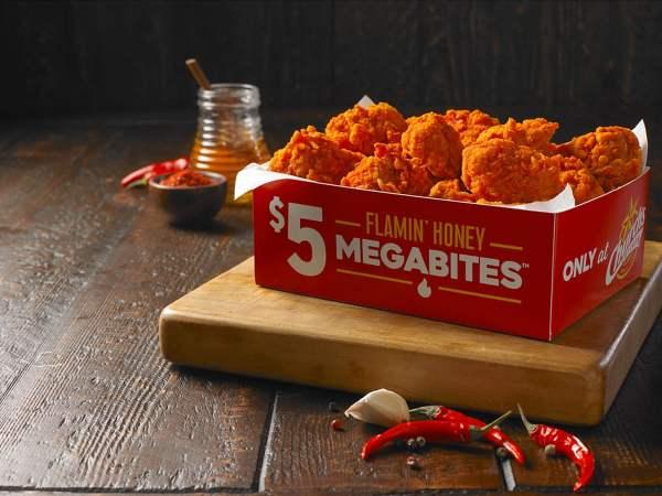 News Church s Chicken Flamin Honey MegaBites