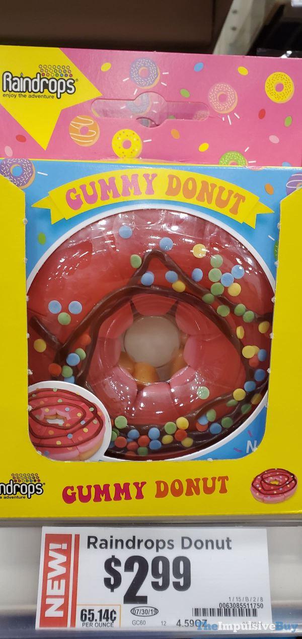 Raindrops Gummy Donut