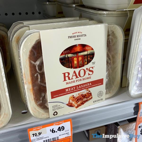 Rao s Made for Home Meat Lasagna
