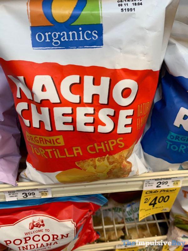Safeway Organics Nacho Cheese Organic Tortilla Chips