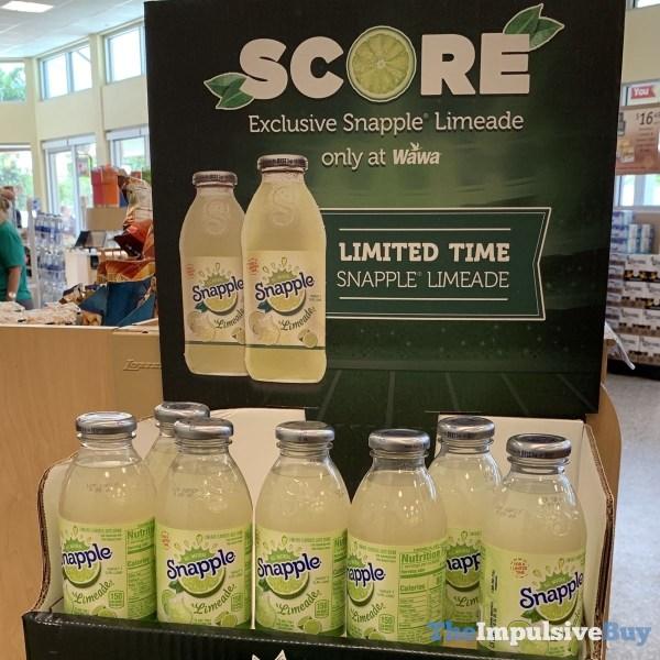 Snapple Limeade  Wawa Exclusive