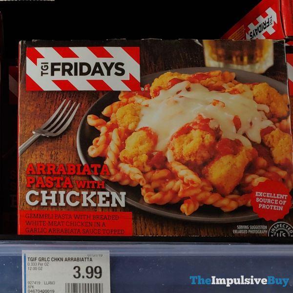 TGI Fridays Arrabiata Pasta with Chicken