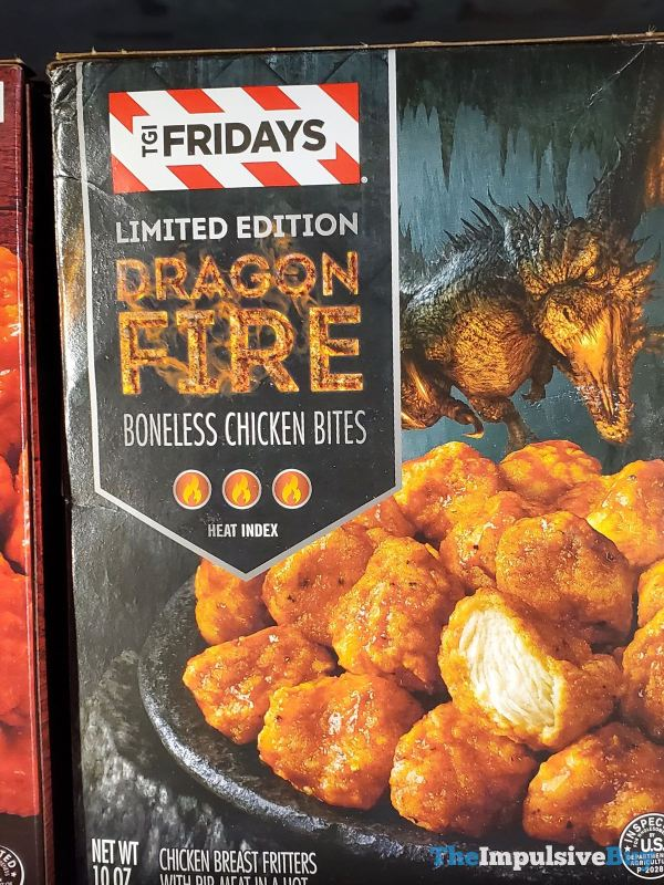 TGI Fridays Limited Edition Dragon Fire Boneless Chicken Bites