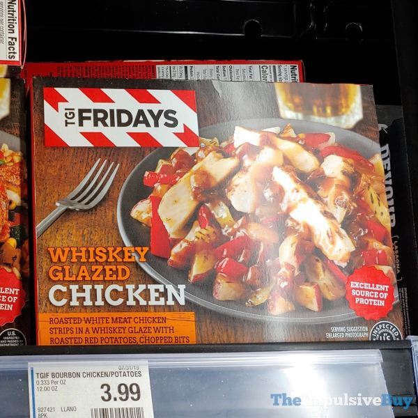 TGI Fridays Whiskey Glazed Chicken