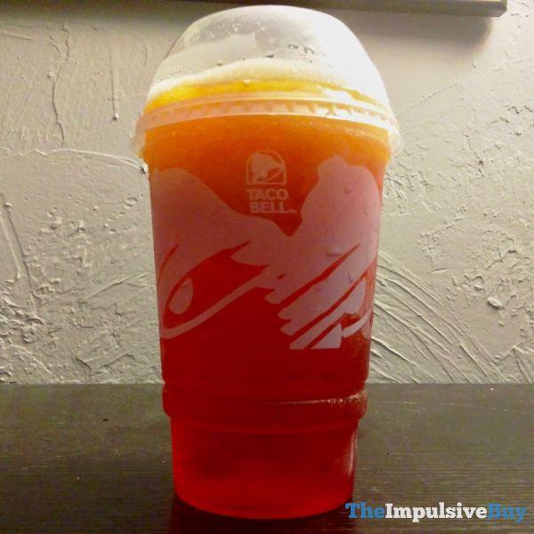 Taco Bell Cherry Sunset Freeze