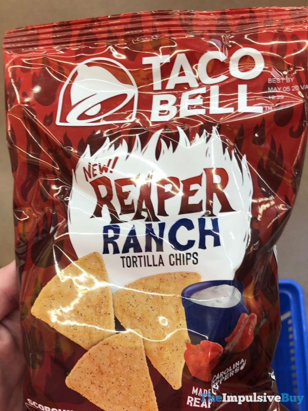 Taco Bell Reaper Ranch Tortilla Chips