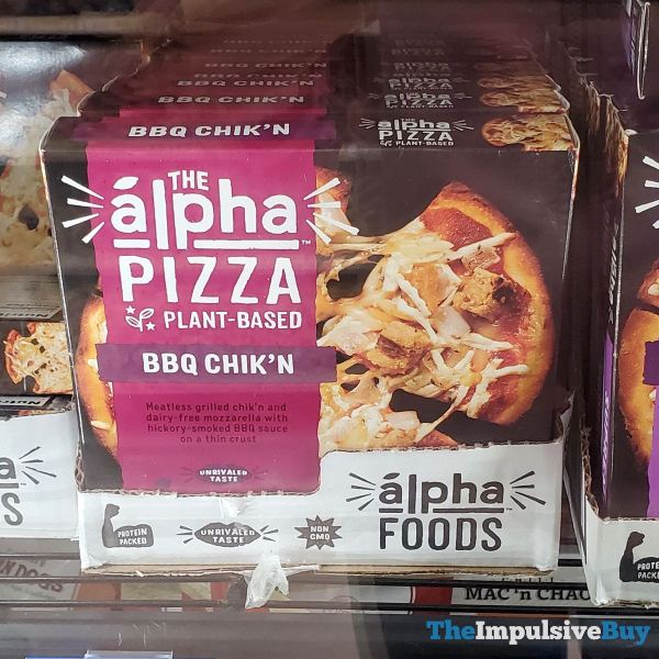 The Alpha Pizza Plant-Based BBQ Chik'n