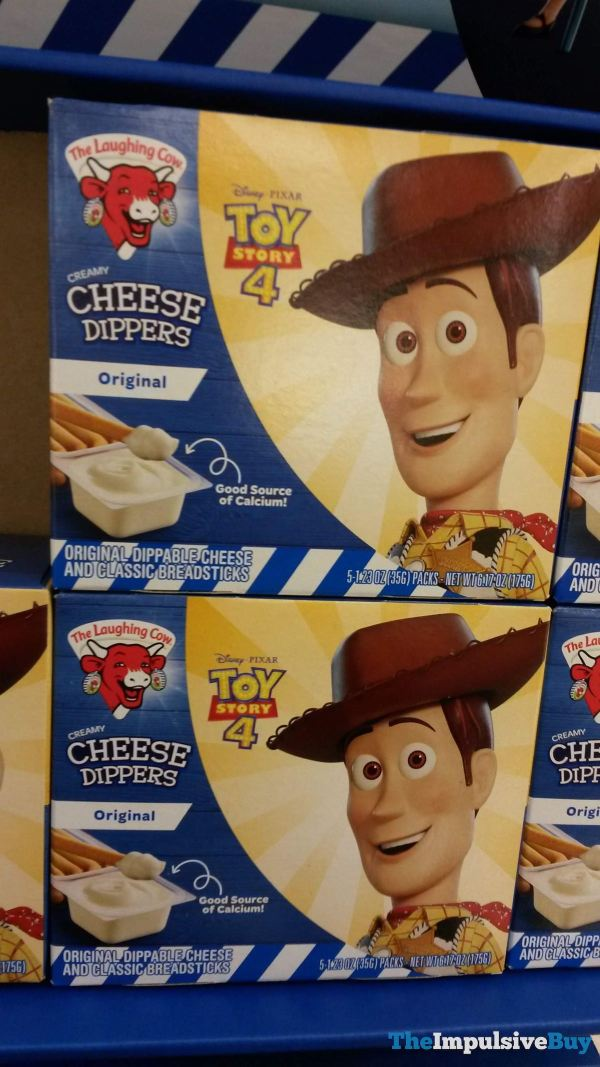 The Laughing Cow Toy Story 4 Original Cheese Dippers