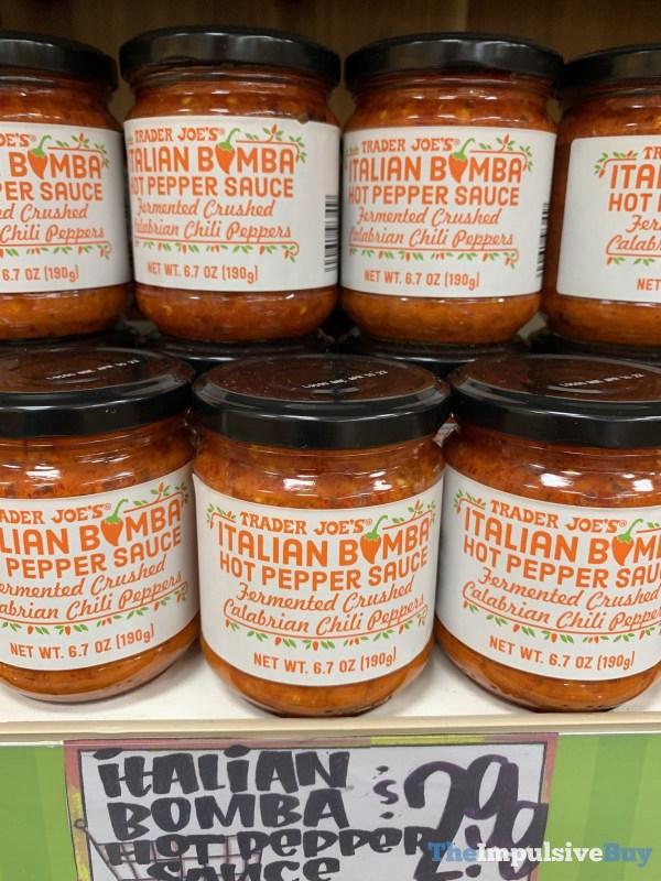 Trader Joe s Italian Bomba Hot Pepper Sauce