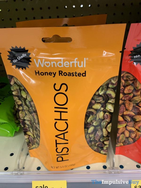 Wonderful Honey Roasted Pistachios