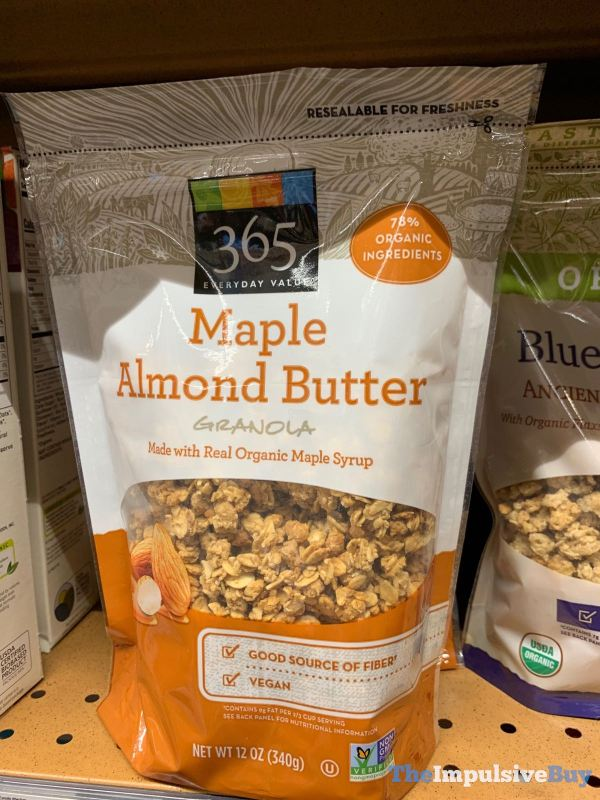 365 Everyday Value Maple Almond Butter Granola