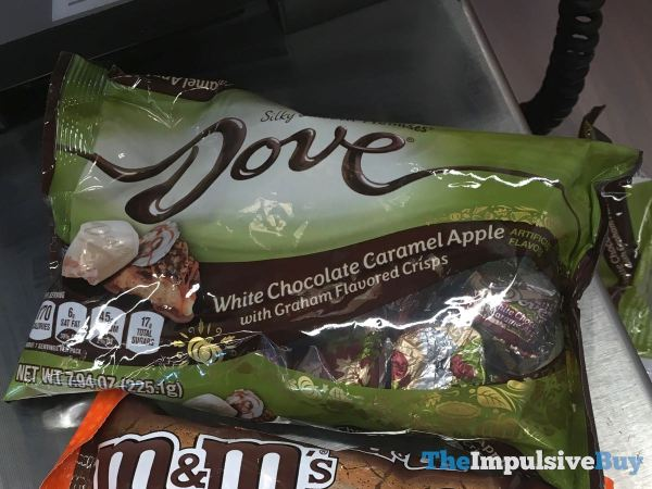 Dove White Chocolate Caramel Apple with Graham Flavored Crisps Promises