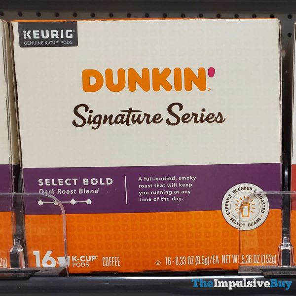 Dunkin Signature Series Select Bold K Cups