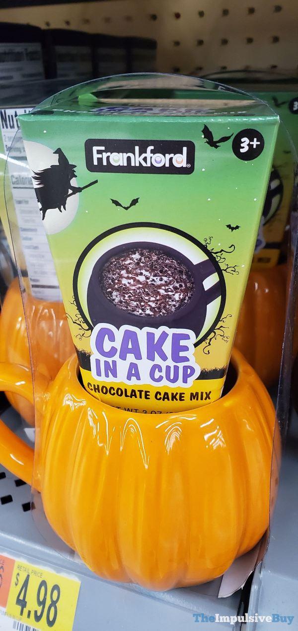 Frankford Pumpkin Cake in a Cup Chocolate Cake Mix